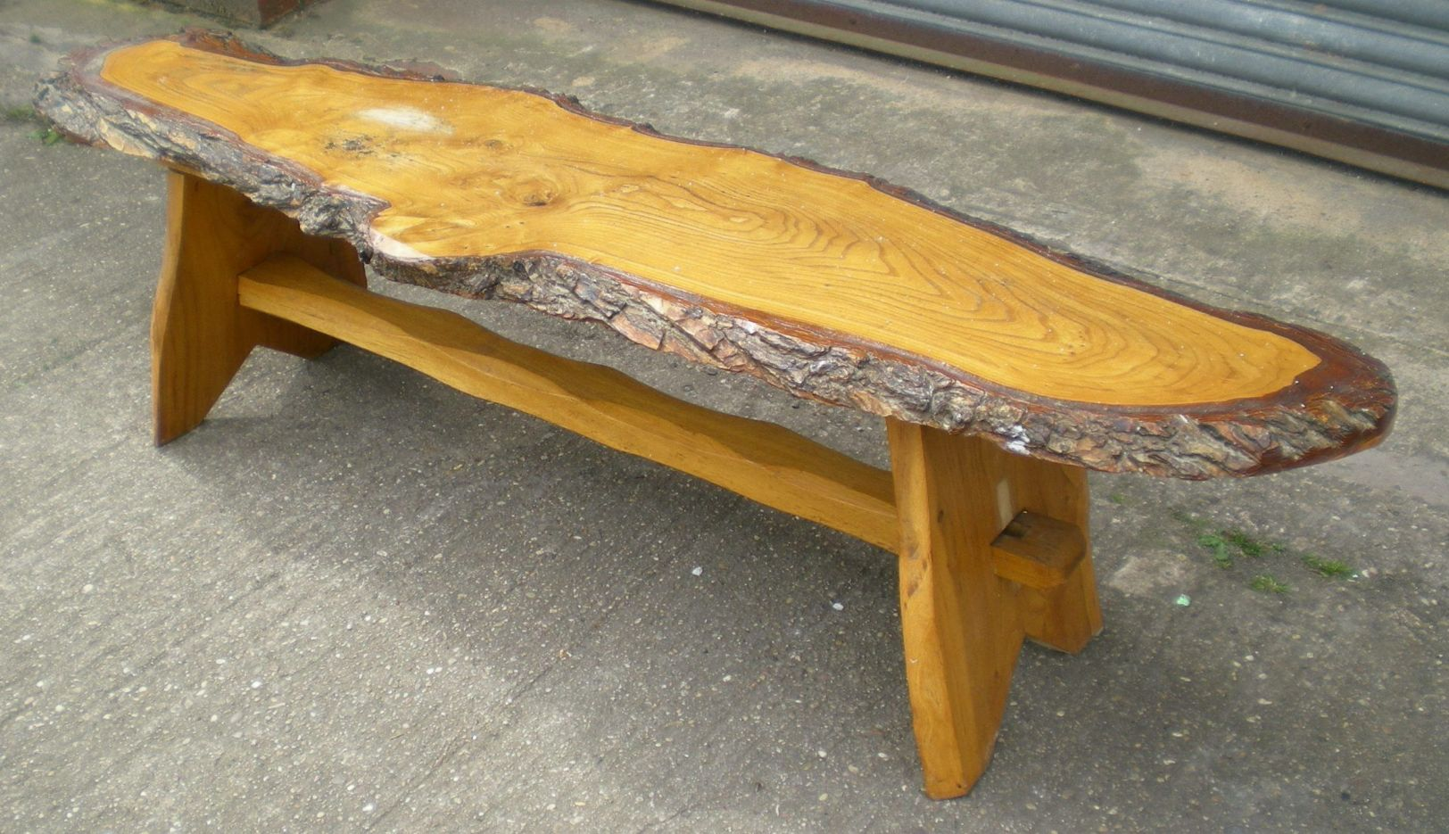 Rustic Look Long Log Style Coffee Table : rustic look long log style coffee table 3 2398 p from www.harrisonantiquefurniture.co.uk size 1624 x 935 jpeg 260kB